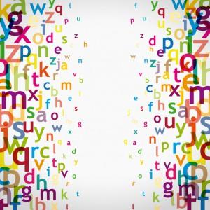 alphabet à droite et gauche